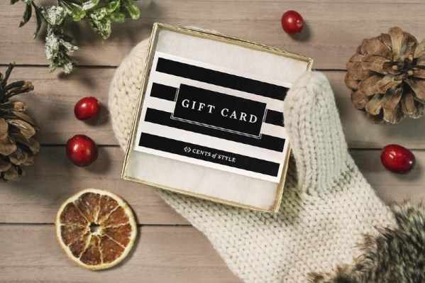 Free $5 w/$25 Gift Card Purchase at Cents of Style