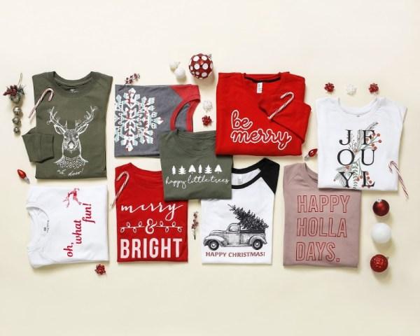 BOGO Holiday Shirts & PJ's (Start At $15 Each)
