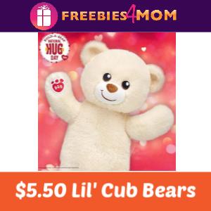 $5.50 Lil' Cub Bears at Build-A-Bear
