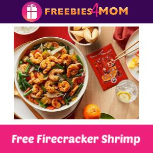 Free Firecracker Shrimp at Panda Express 1/25