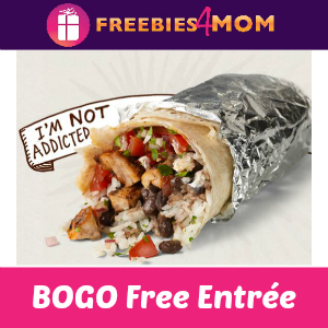 Chipotle BOGO Free With Hockey Jersey