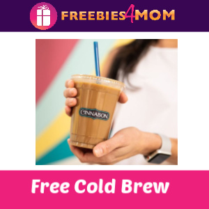 Free Cold Brew at Cinnabon 2/17