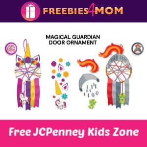 JCPenney Kid Zone Door Ornament 3/14