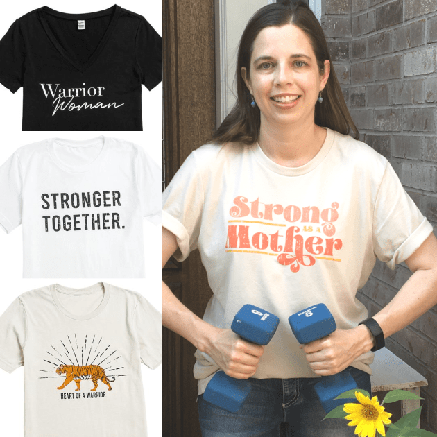 🐯Strong as a Mother👩Warrior Women Tees $9.95 off