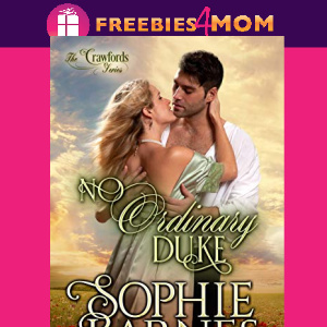 ❤️Free eBook: No Ordinary Duke ($3.99 value)