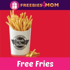 🍟Free Fries at Steak 'n Shake