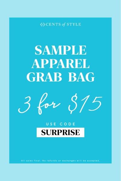 🛍3 Piece Apparel Grab Bag Only $15