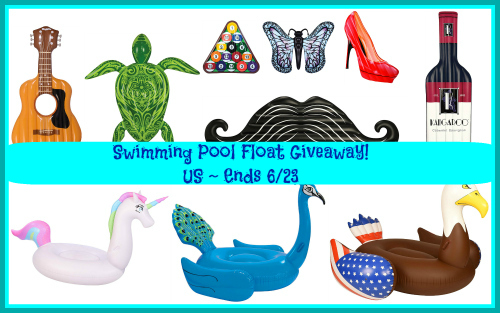 Swimming Pool Floats ~ Summer #Giveaway!