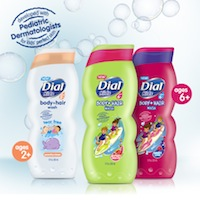 Dial Kids Body Wash and Shampoo