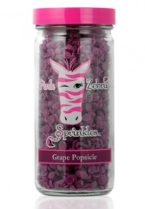 Pink Zebra Grape Popsicle