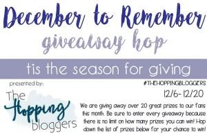 December to Remember Giveaway Hop