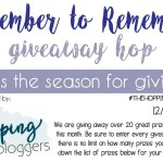 December to Remember Giveaway Hop