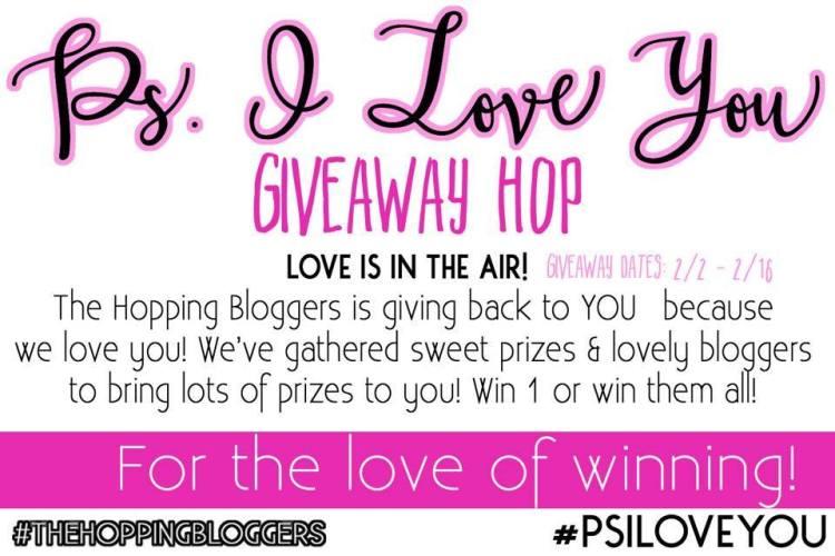 P.S. I Love You Giveaway Hop