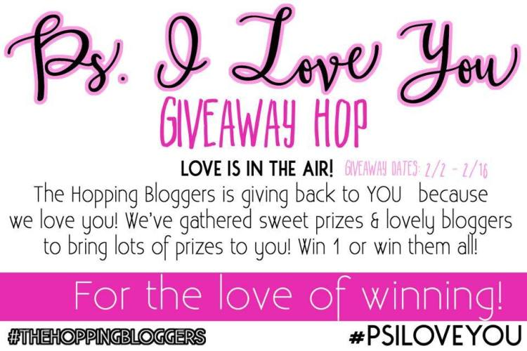 P.S. I Love You Giveaway Hop