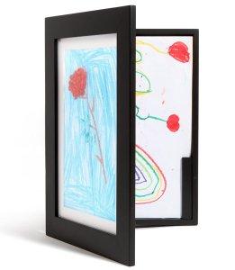 photo frame storage cabinet