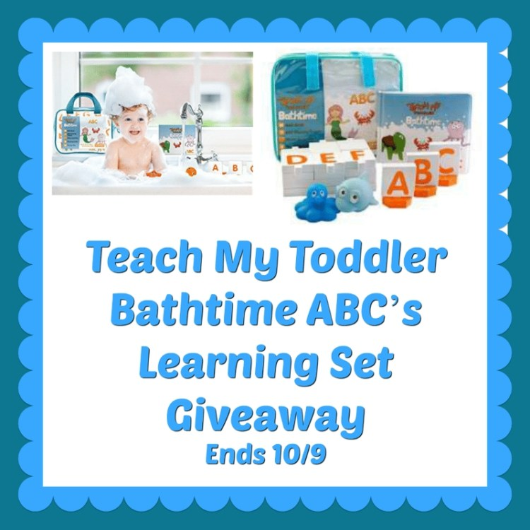 Bath Time ABC's