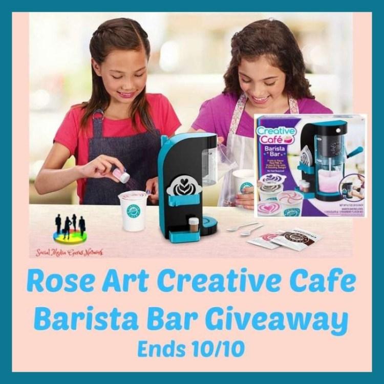 Rose Art Creative Cafe Barista Bar