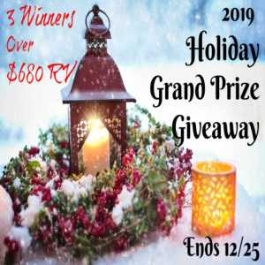 2019 Holiday Grand Prize Giveaway!
