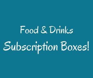 Subscription Boxes Food Drinks