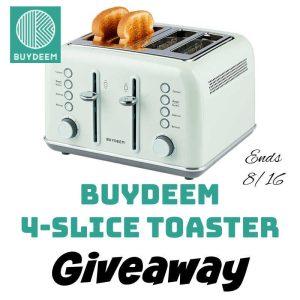 Buydeem 4-Slice Toaster