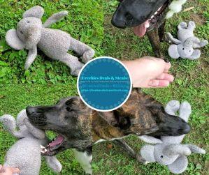 MARATA Elephant Dog Chew Toy