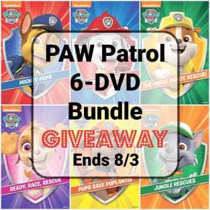 PAW Patrol 6-DVD Bundle