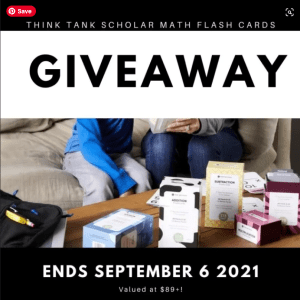 Think Tank Scholar Math Flash Cards Bundle