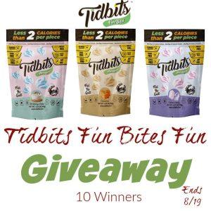 Tidbits Fun Bites Fun Giveaway!