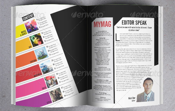 21 Magazine Templates A4 Format  Design Freebies