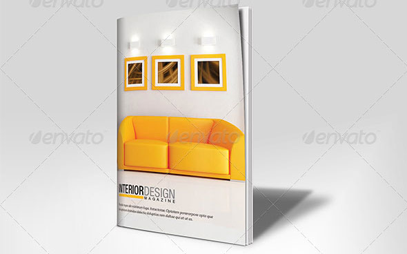 10 Beautiful Furniture Brochure Templates