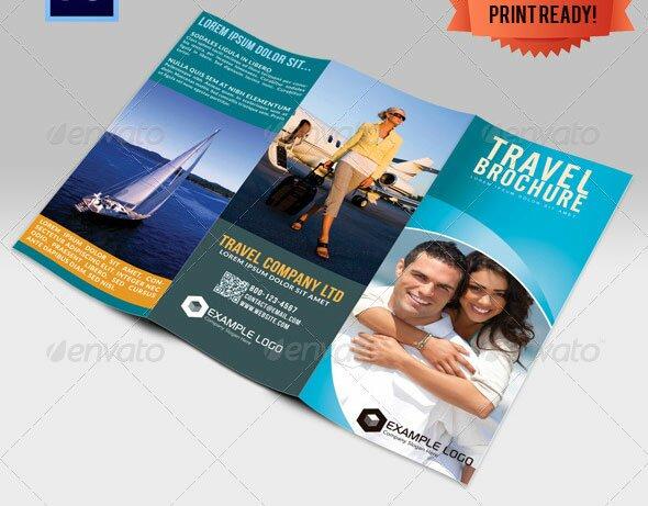33 Creative Tri Fold Brochure Templates PSD & InDesign
