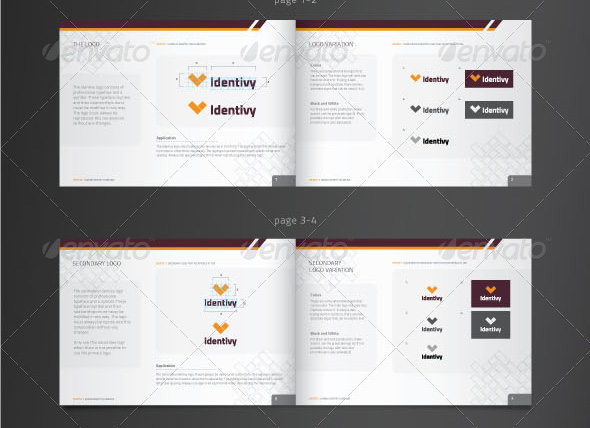 27 Great Brand Book Guideline Indesign Templates – Design