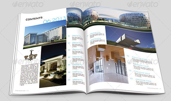 10 Beautiful Indesign Templates For Architecture Magazine  Design Freebies