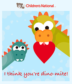 Send a Free Valentine's Day Card to a Child in the Children's National Hospital