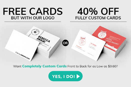 Share on Social Media about 200 Free Business Cards on 4Over4 and Get Them Shipped to You Free