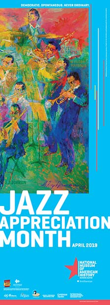 This Month Get a Free Jazz Appreciation Month (JAM) Poster