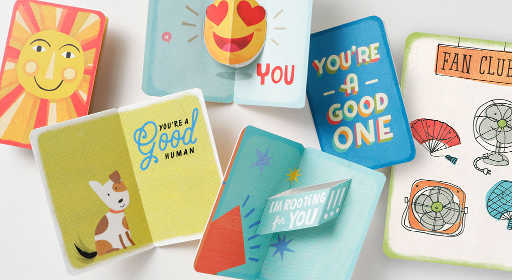 Free Just Because Card at Hallmark Gold Crown Store