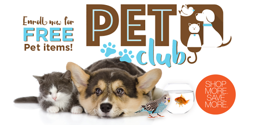 Free Pet Items at Albertson's