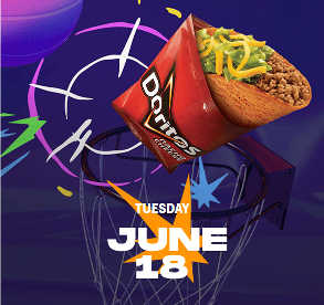 Free Dorito Locos Tacos to Celebrate Golden State Warrior's Victory