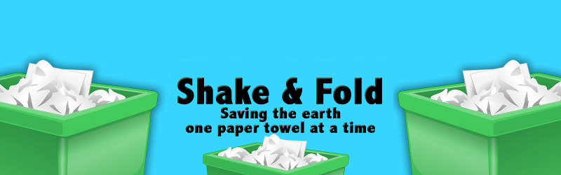 Redeem Up to 10 Free Shake & Fold Paper Towel Waste Reduction Stickers