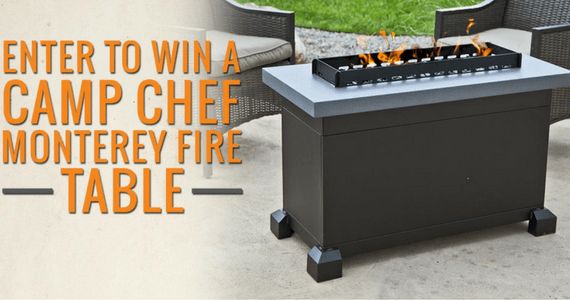 Win a Camp Chef Fire Table