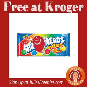 Free Air Heads Bites at Kroger