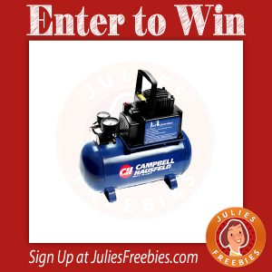 Campbell Hausfeld Quiet Air Compressor Giveaway