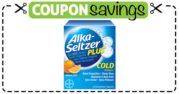 Save $1 off ANY Alka-Seltzer Plus Product