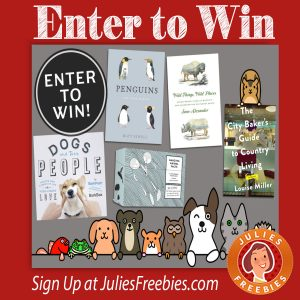 Animal Lovers Book Giveaway