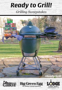 Win a Large Big Green Egg Grill