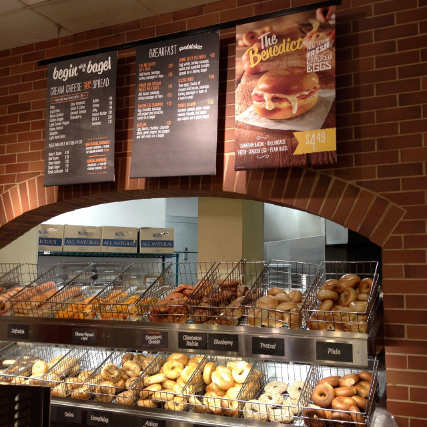 Free Bagels with Cream Cheese Up for Grab at Bruegger's
