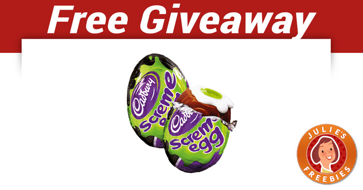 Free Cadbury Screme Egg