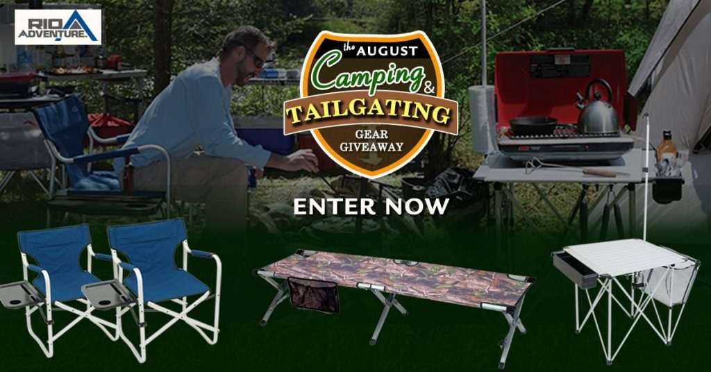 Win a Tailgating and Camping Gear Prize Pack