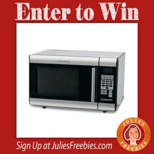 Win a Cuisinart Stainless Steel Microwave